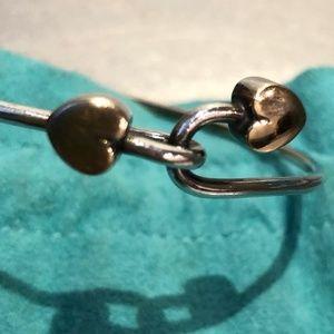 Tiffany & Co. Interlocking Heart Bangle